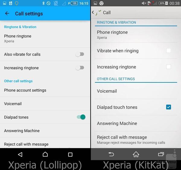 Perbandingan Android Lollipop Vs Kitkat Pada Sony Xperia 11