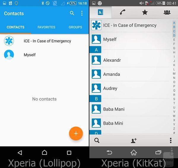 Perbandingan Android Lollipop Vs Kitkat Pada Sony Xperia 6