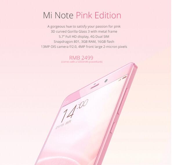 Mi Note Pink2