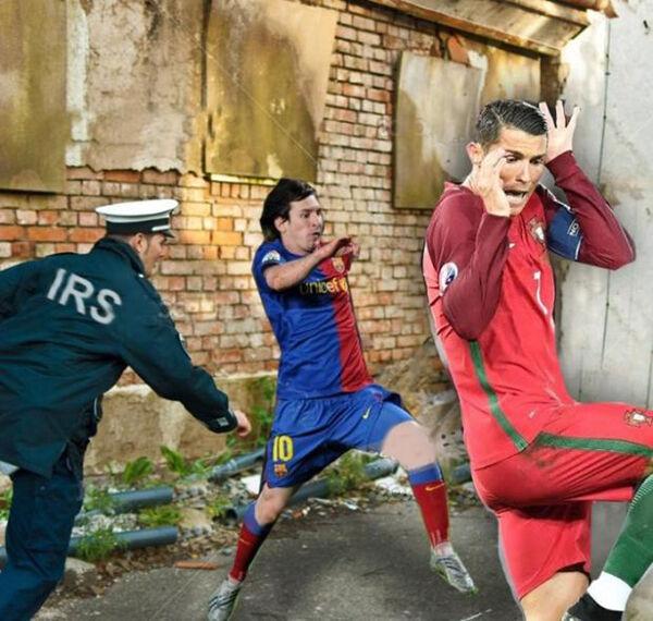 Foto Kocak Ronaldo 3