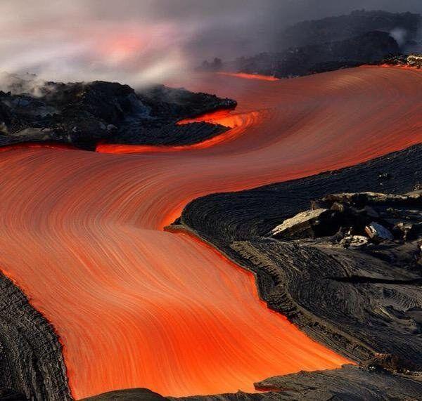 Aliran Lava Yang Bikin Berdecak Kagum
