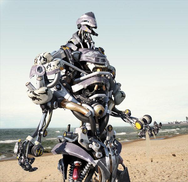 Karya Seni Robot 4