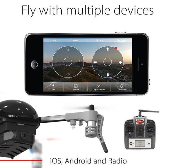 Micro Drone Seukuran Kepalan Tangan 1