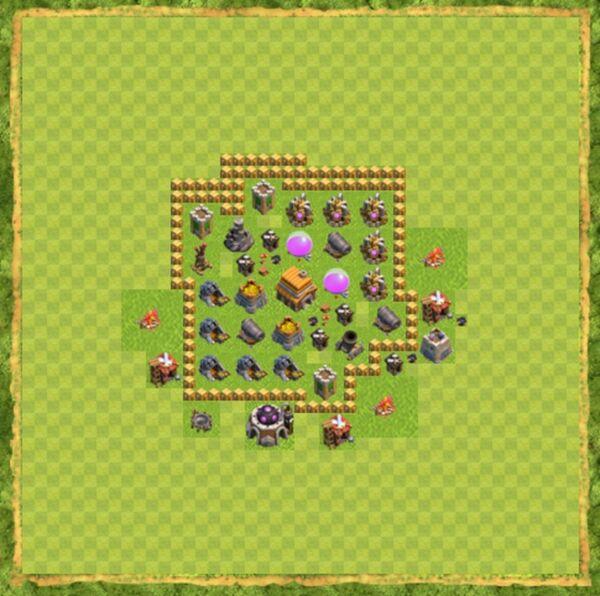 Base Defense Coc Th 5 Terbaru 6