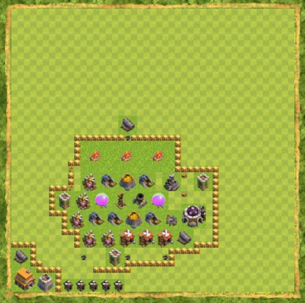 Base Farming Coc Th 5 Terbaru 3