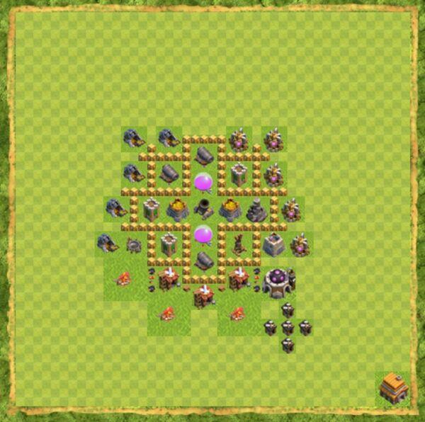 Base Farming Coc Th 5 Terbaru 5