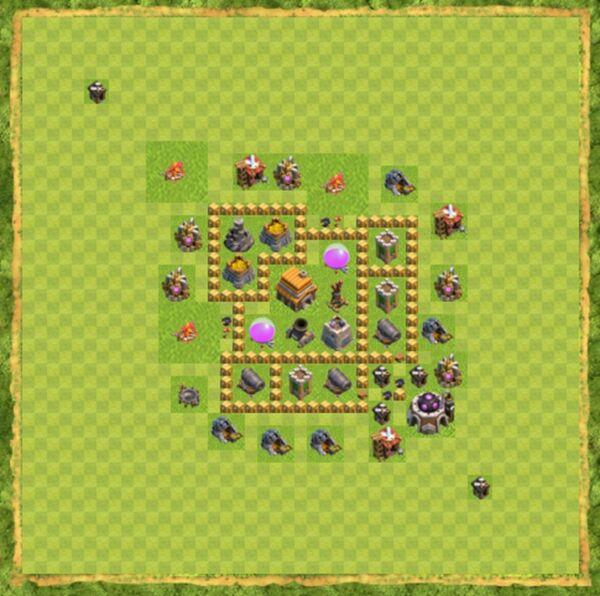 Base Farming Coc Th 5 Terbaru 7