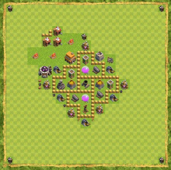 Base Farming Coc Th 5 Terbaru 8