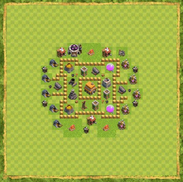 Base War Coc Th 5 Terbaru 1