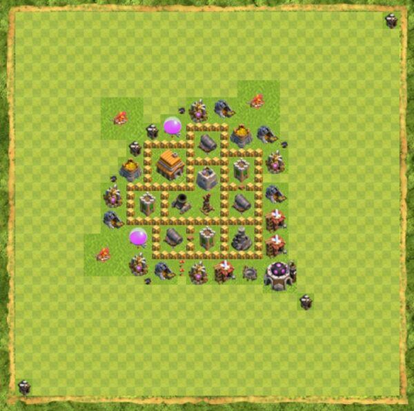 Base War Coc Th 5 Terbaru 3