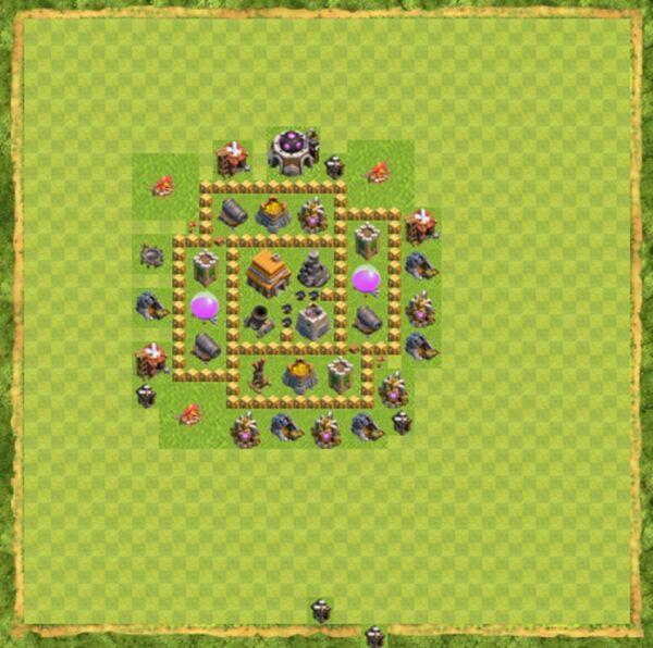 Base War Coc Th 5 Terbaru 4