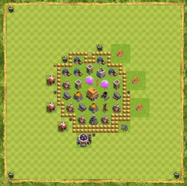 Base War Coc Th 5 Terbaru 5