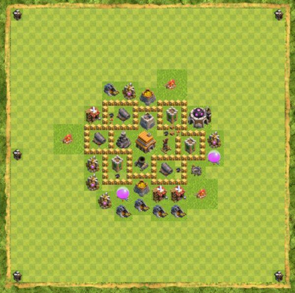 Base War Coc Th 5 Terbaru 7