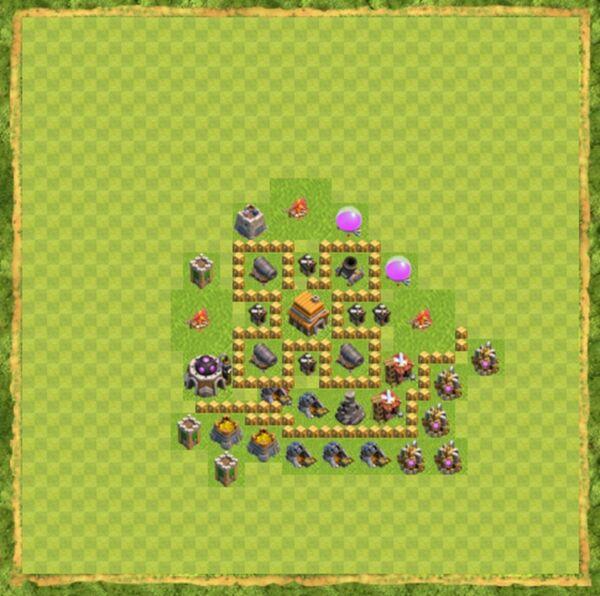 Base War Coc Th 5 Terbaru 8