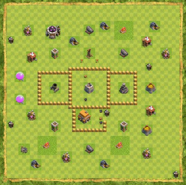 Base War Coc Th 5 Terbaru 9