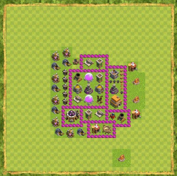Base Defense Coc Th 6 Terbaru 4