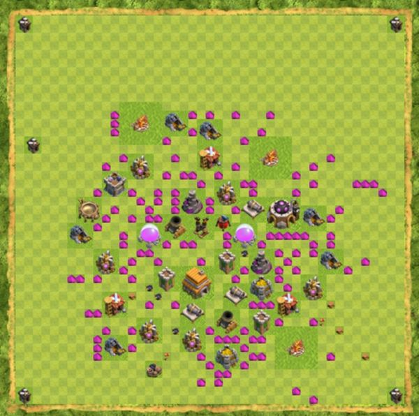 Base Defense Coc Th 6 Terbaru 5