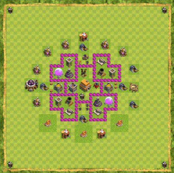 Base War Coc Th 6 Terbaru 1
