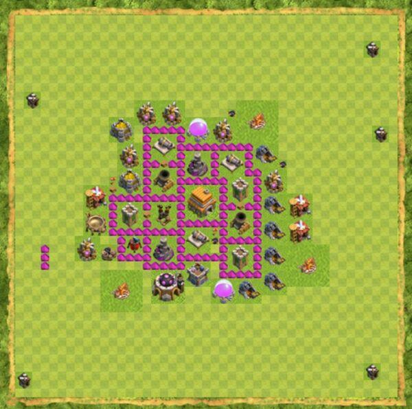 Base War Coc Th 6 Terbaru 10