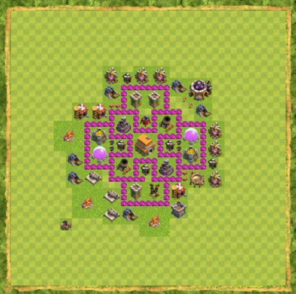 Base War Coc Th 6 Terbaru 2