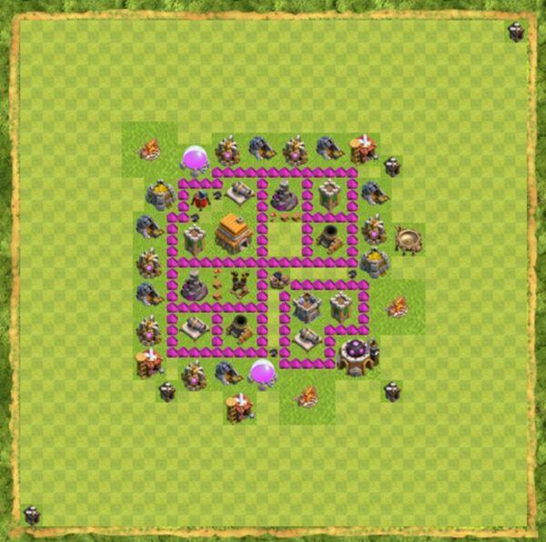 Base War Coc Th 6 Terbaru 3