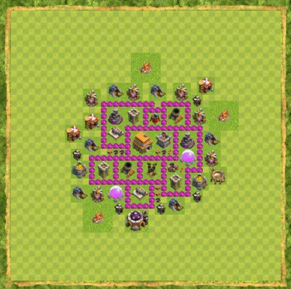 Base War Coc Th 6 Terbaru 7
