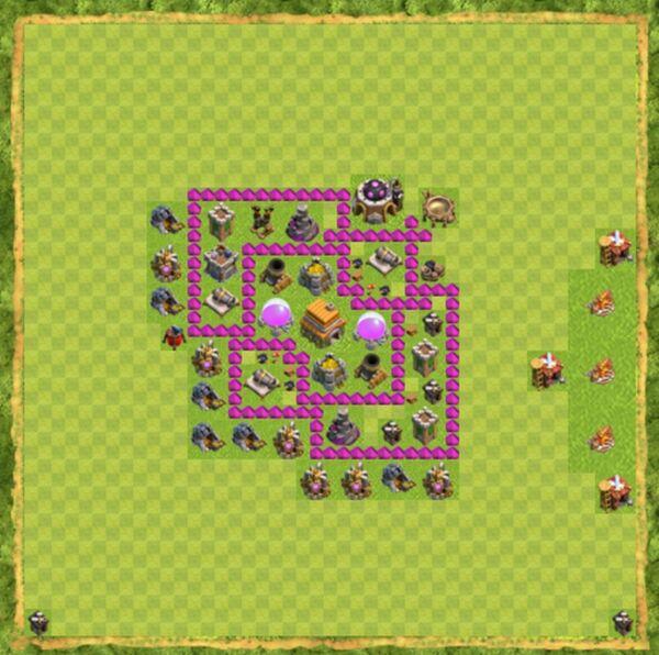 Base War Coc Th 6 Terbaru 8