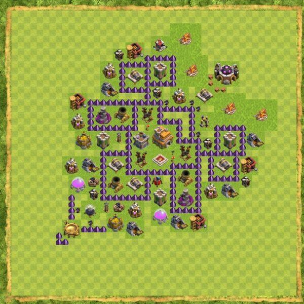Base War Coc Th 7 Terbaru 11