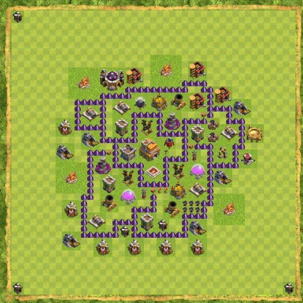 Base War Coc Th 7 Terbaru 12