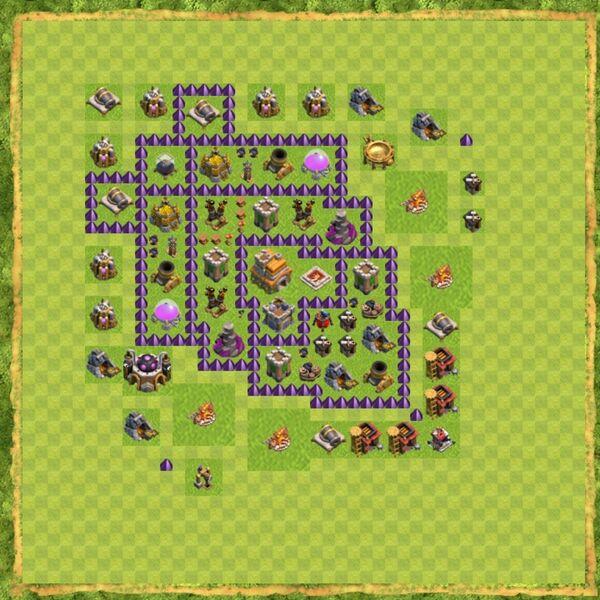 Base War Coc Th 7 Terbaru 13