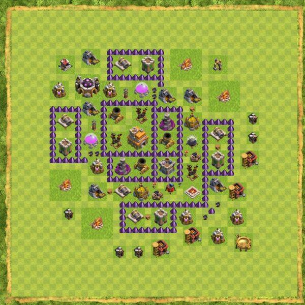 Base War Coc Th 7 Terbaru 5