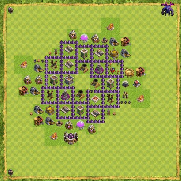 Base War Coc Th 7 Terbaru 6