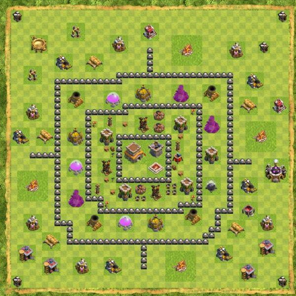 Base War Coc Th 8 Terbaru 10