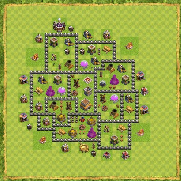 Base War Coc Th 8 Terbaru 3