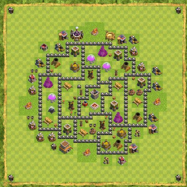 Base War Coc Th 8 Terbaru 5