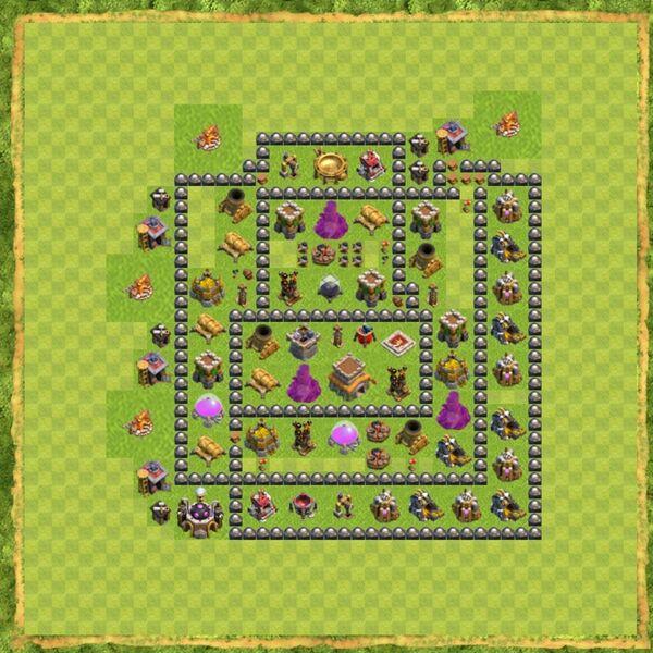 Base War Coc Th 8 Terbaru 6