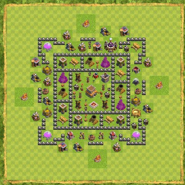 Base War Coc Th 8 Terbaru 7