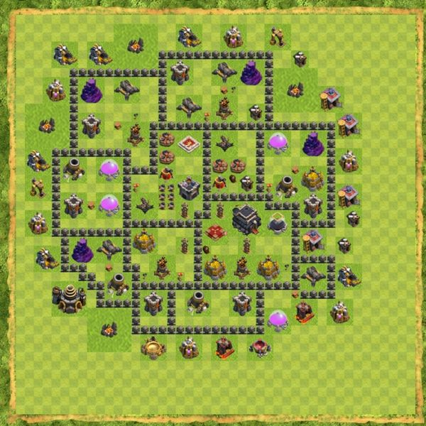 Base War Coc Th 9 Terbaru 10