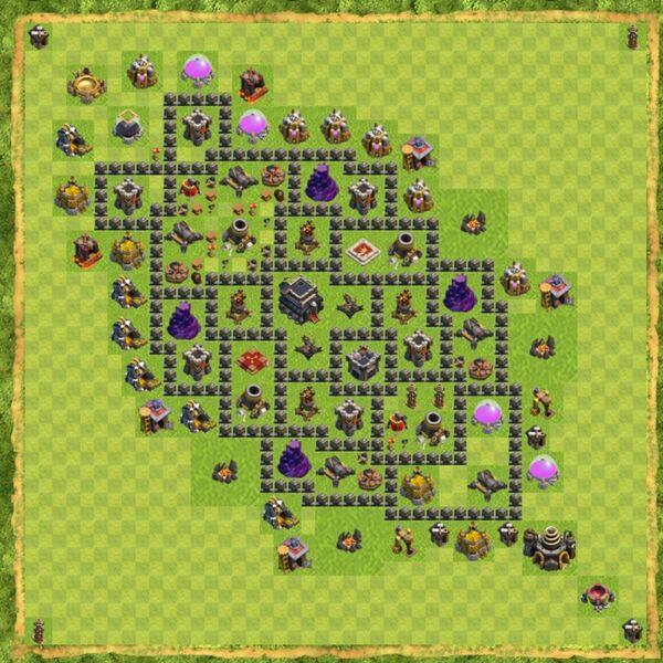 Base War Coc Th 9 Terbaru 11