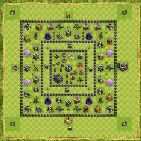 Base War Coc Th 9 Terbaru 13