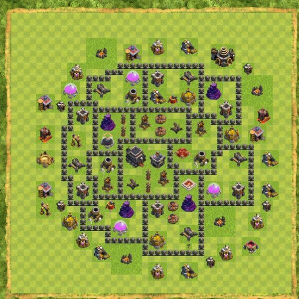 Base War Coc Th 9 Terbaru 16