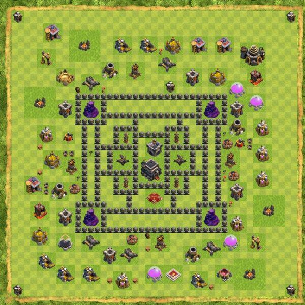Base War Coc Th 9 Terbaru 17