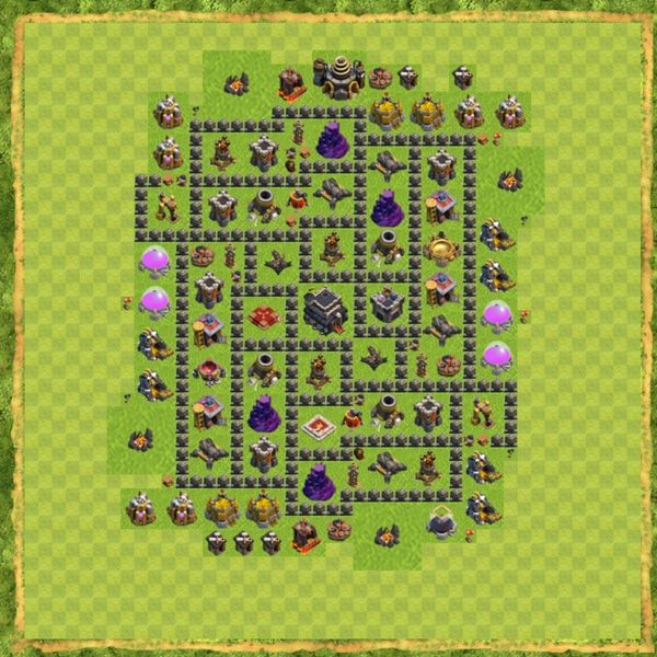 Base War Coc Th 9 Terbaru 18