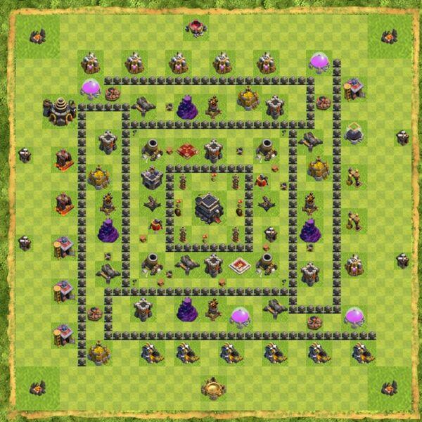 Base War Coc Th 9 Terbaru 19