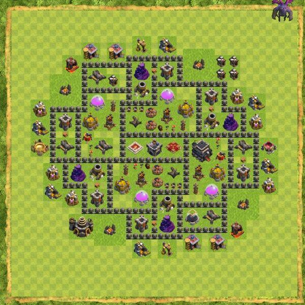 Base War Coc Th 9 Terbaru 2