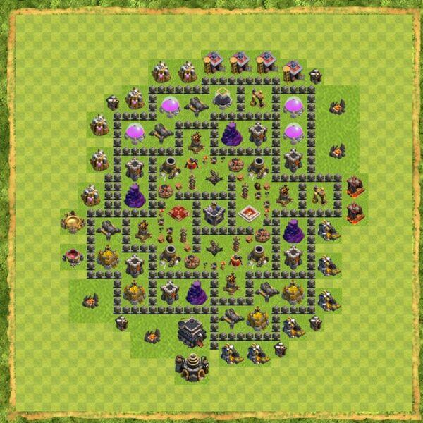 Base War Coc Th 9 Terbaru 5