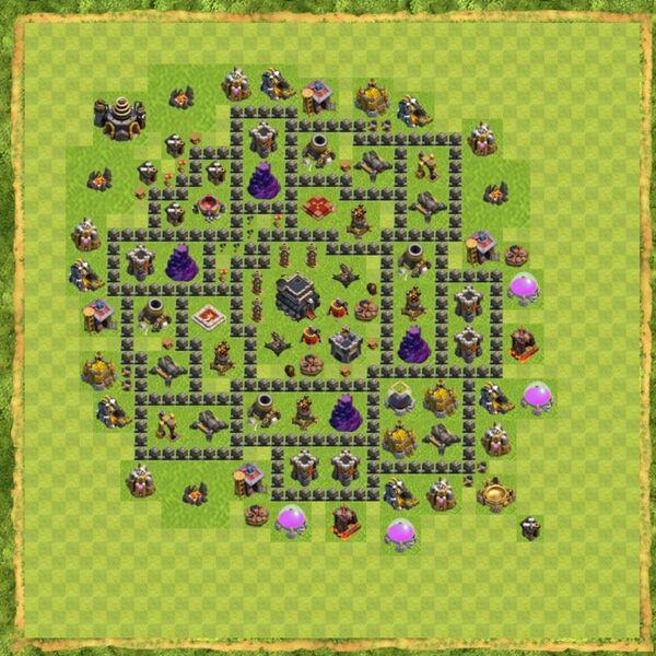 Base War Coc Th 9 Terbaru 9