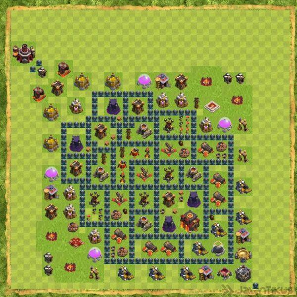 Base War Coc Th 10 Terbaru 1