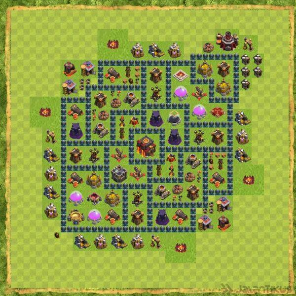 Base War Coc Th 10 Terbaru 10