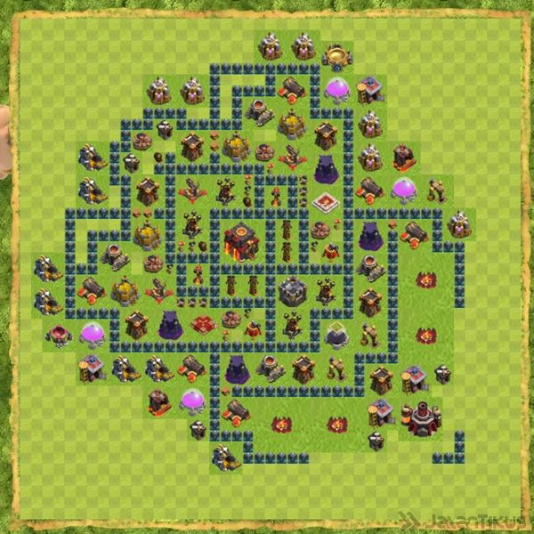 Base War Coc Th 10 Terbaru 11